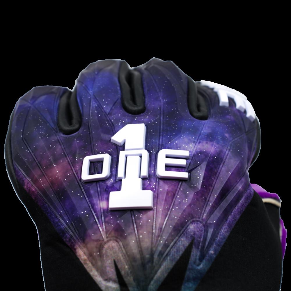 GEO-GLV The One Glove Nebula Goalkeeper Glove Knuckles Punch Zone Stars