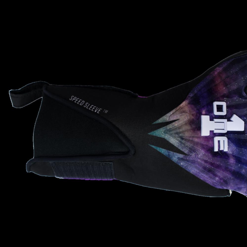 GEO-GLV The One Glove Nebula Goalkeeper Glove Logo Speed Sleeve
