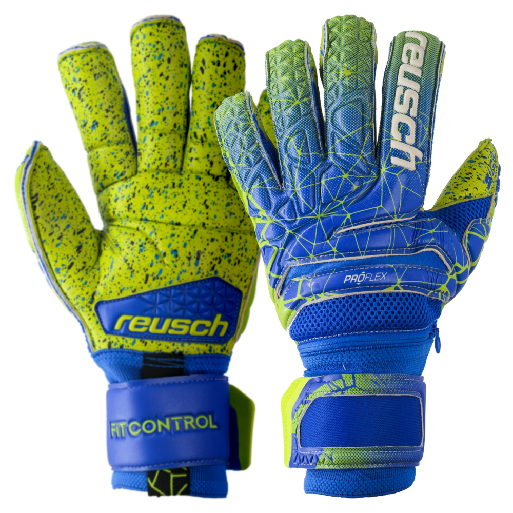 Pro goalkeeper gloves with finger protection