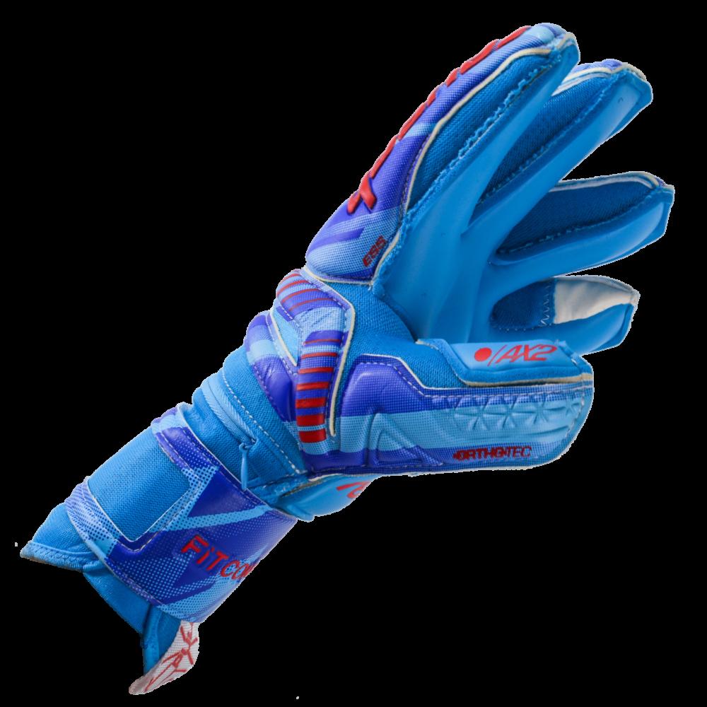 Ergonomic goalkeeper gloves