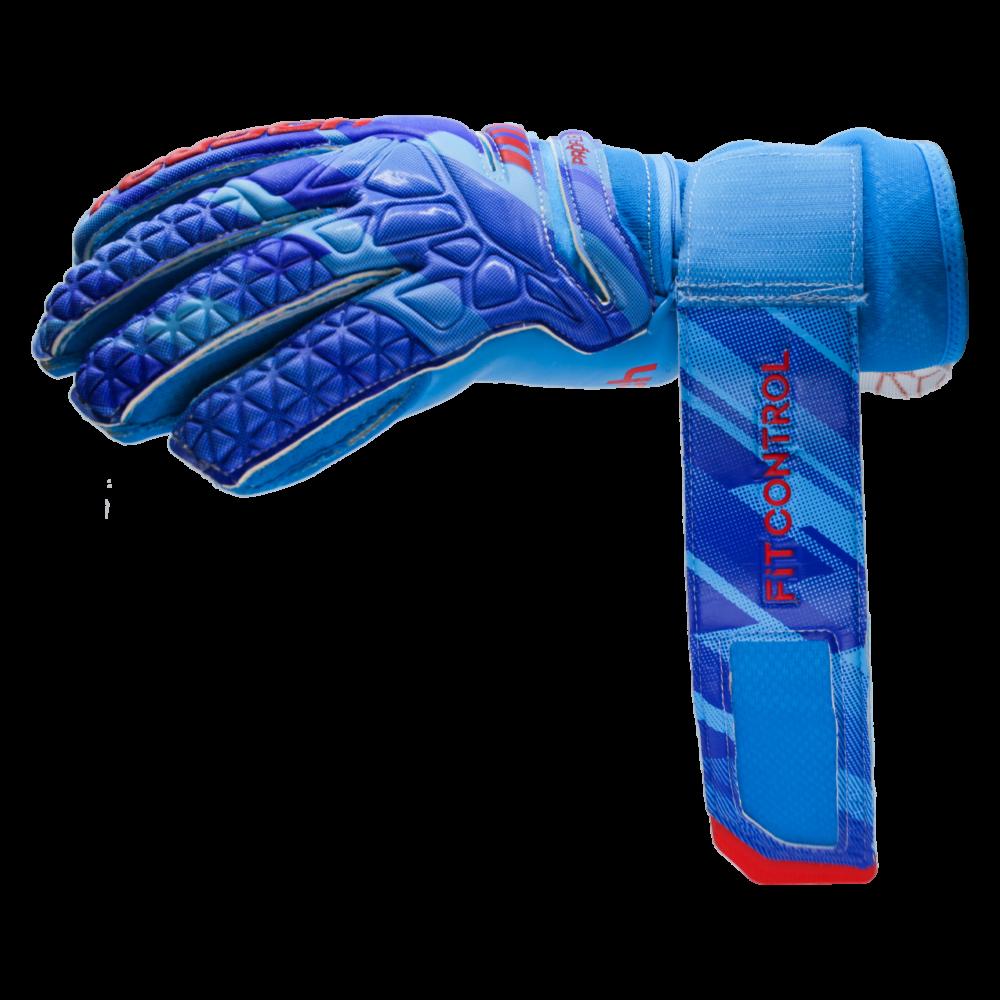 wrist strap on goalkeeper glove