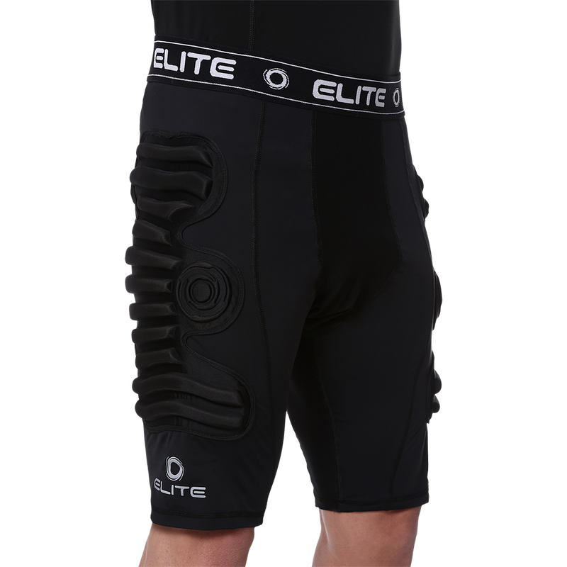 Elite Sport Body Shield Compression Shorts 7mm Front