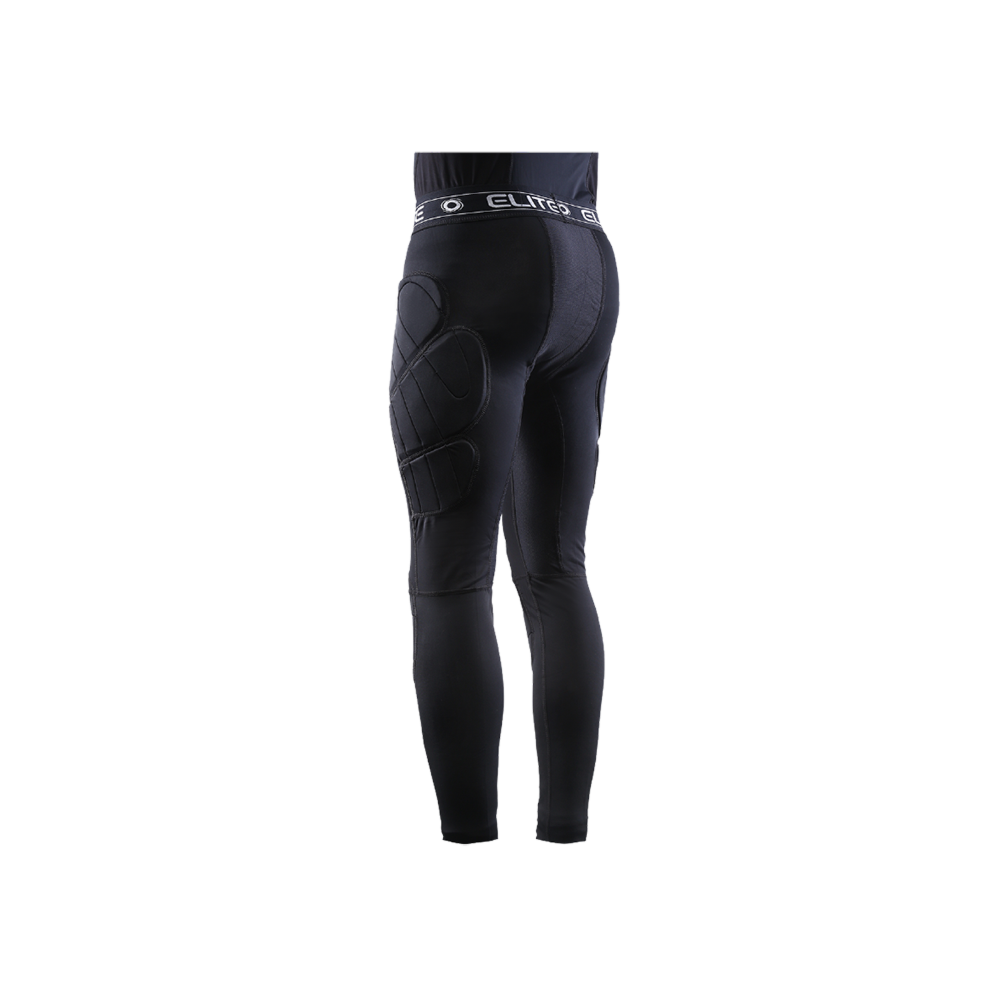 Elite Sport Body Shield Compression Leggings Back