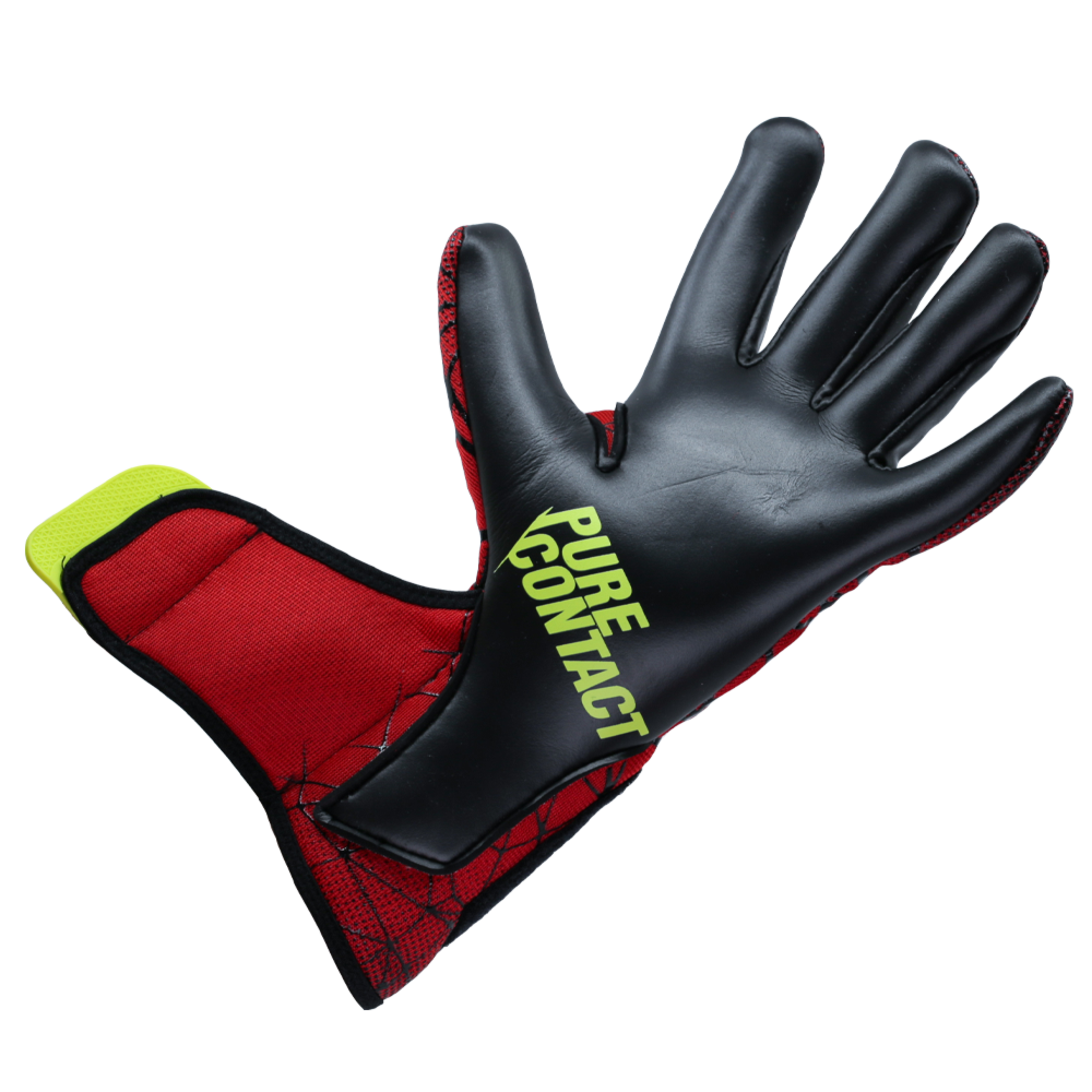 Stretchy wrist strap goalkeeper glove