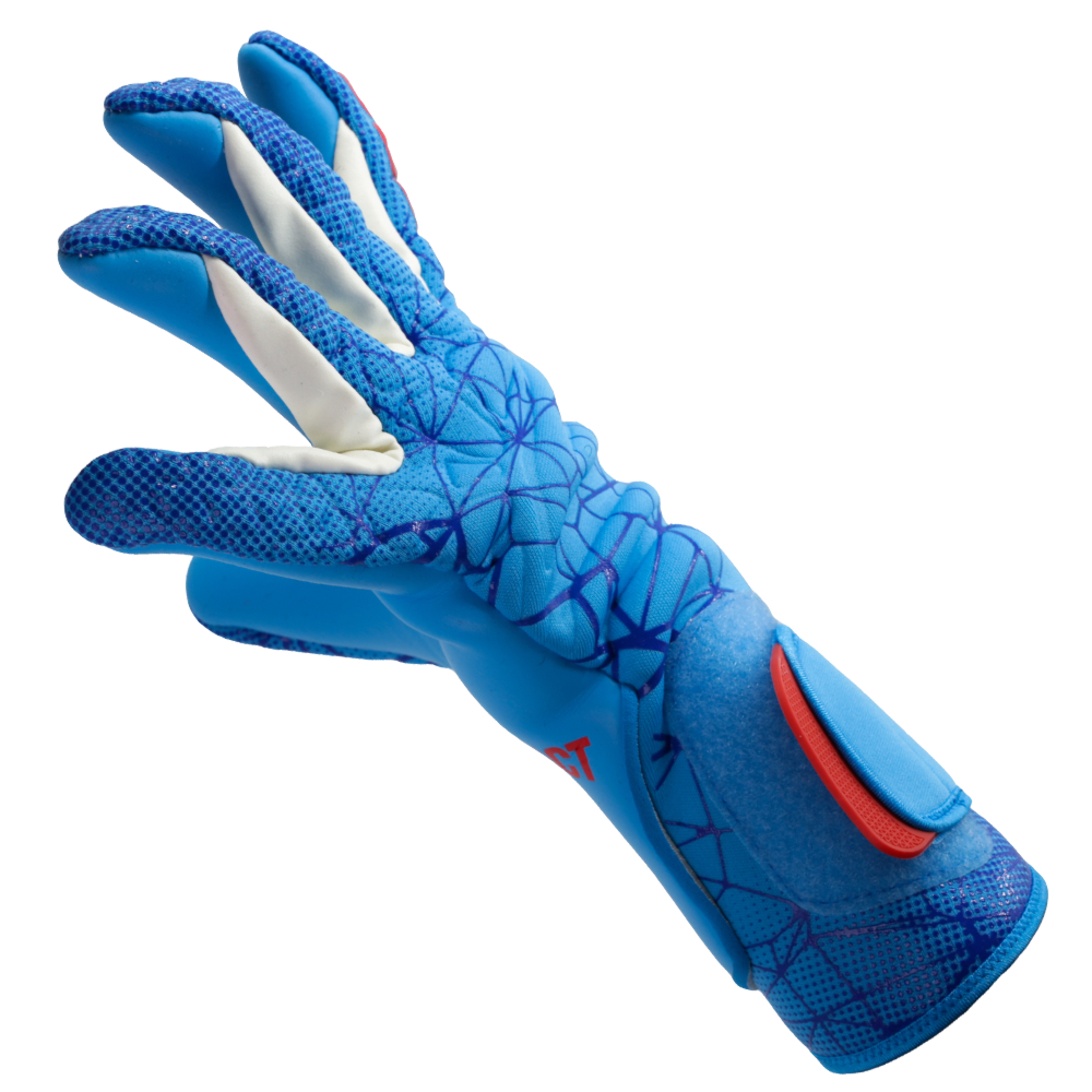wet weather material goalie glove