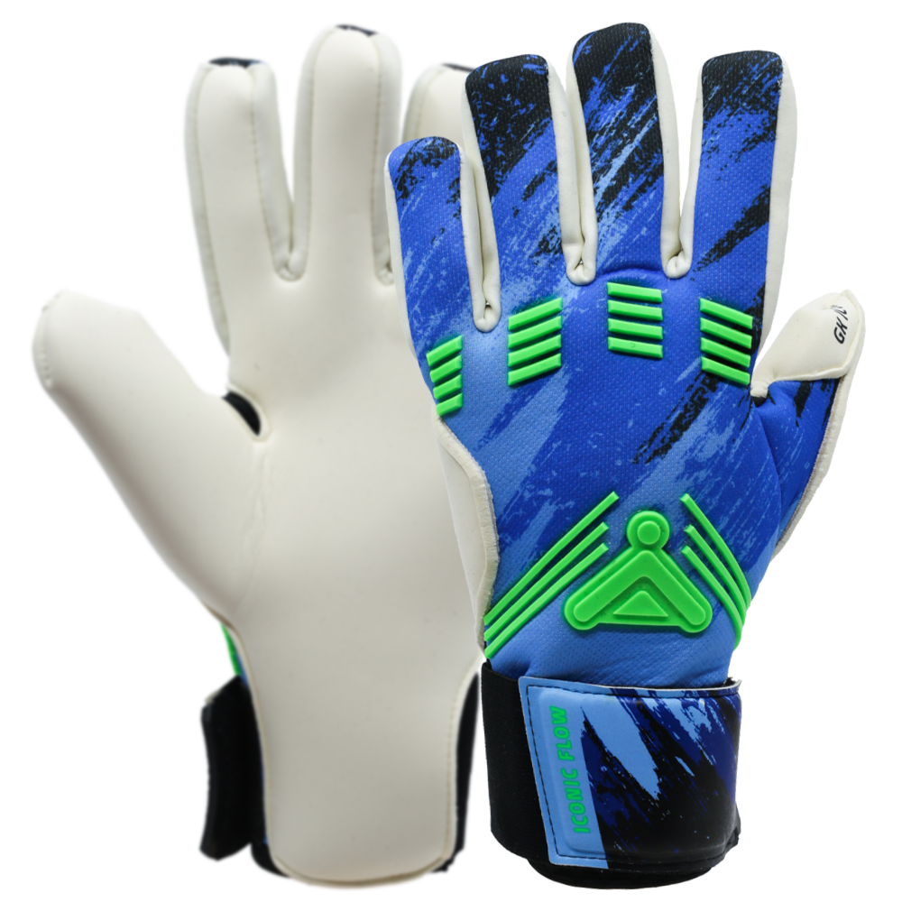 Iconic Flow Aqua Goalkeeper Glove Glove Body
