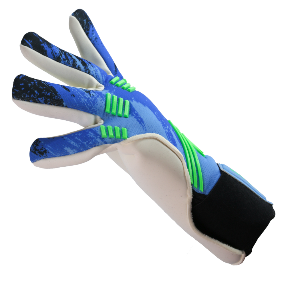 Iconic Flow Aqua Goalkeeper Glove Left Side Fit