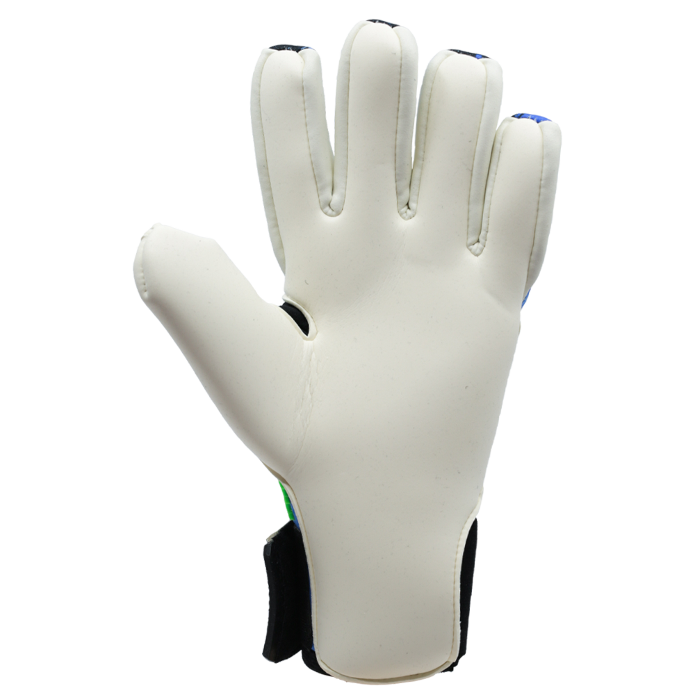 Iconic Flow Aqua Goalkeeper Glove White Latex Palm