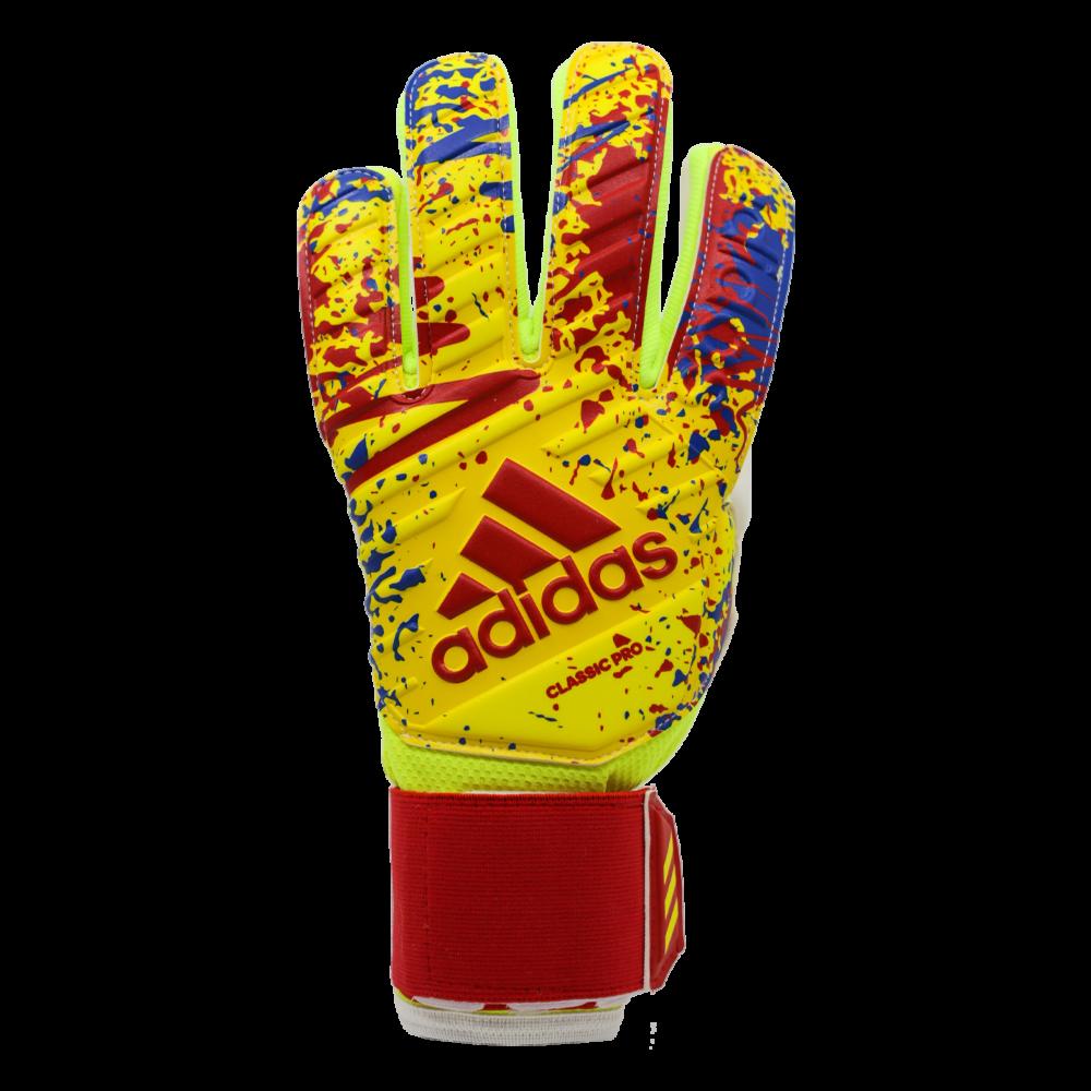 DT8745 Adidas Classic Pro Goalie Glove Backhand Splatter Paint