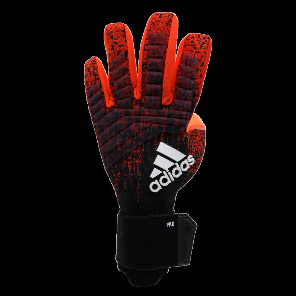 DN8580 Adidas Predator Pro Goalie Glove Backhand Knit