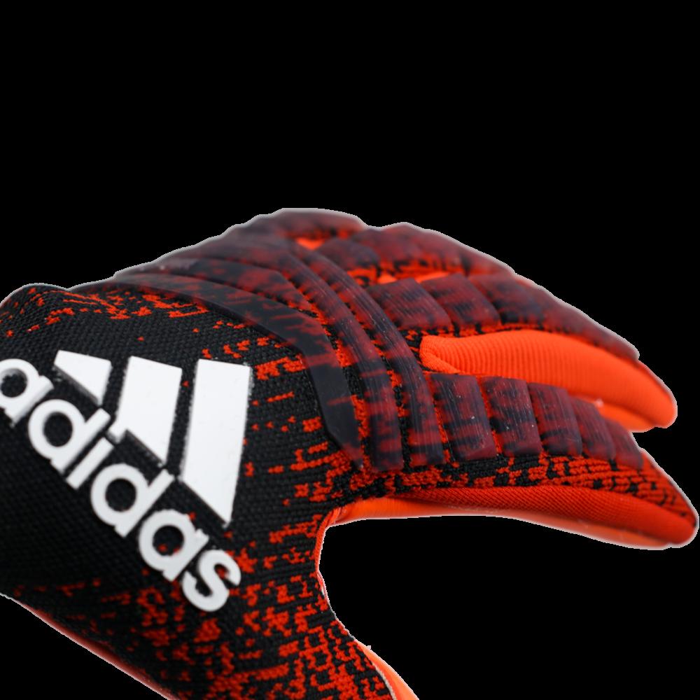 DN8580 Adidas Predator Pro Goalie Glove Logo Fingers
