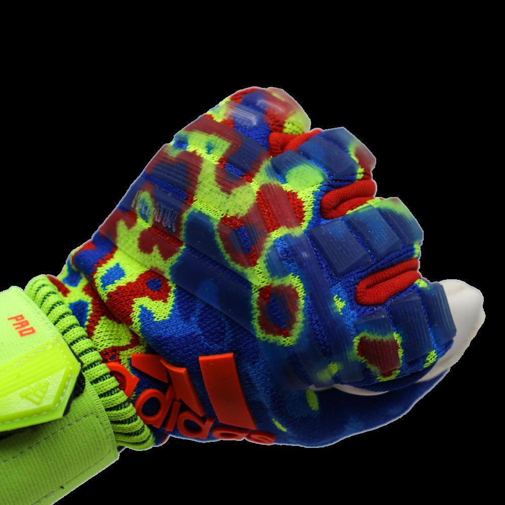 DN8606 Adidas Predator Pro Manuel Neuer Goalie Glove Knuckles Punch Zone