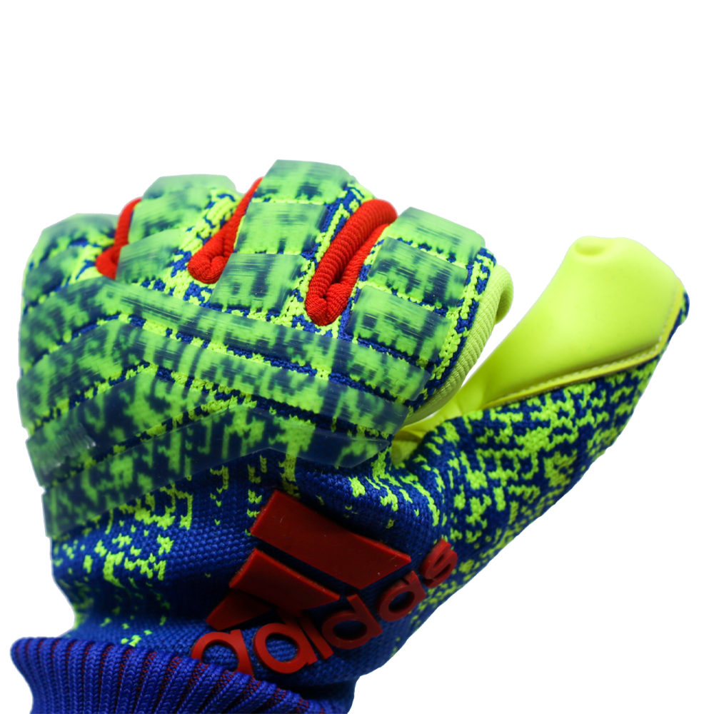 DN8581 Adidas Predator Pro Goalie Glove Punch Zone Knuckle