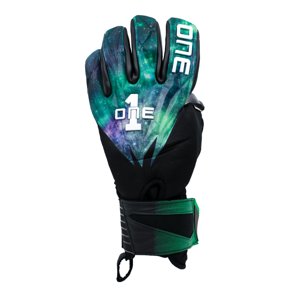 GEO-GLV Aurora Goalkeeper Glove Backhand Space