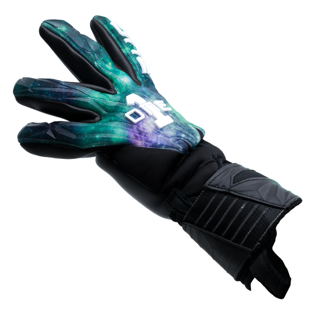 GEO-GLV Aurora Goalkeeper Glove Side Fit Universe