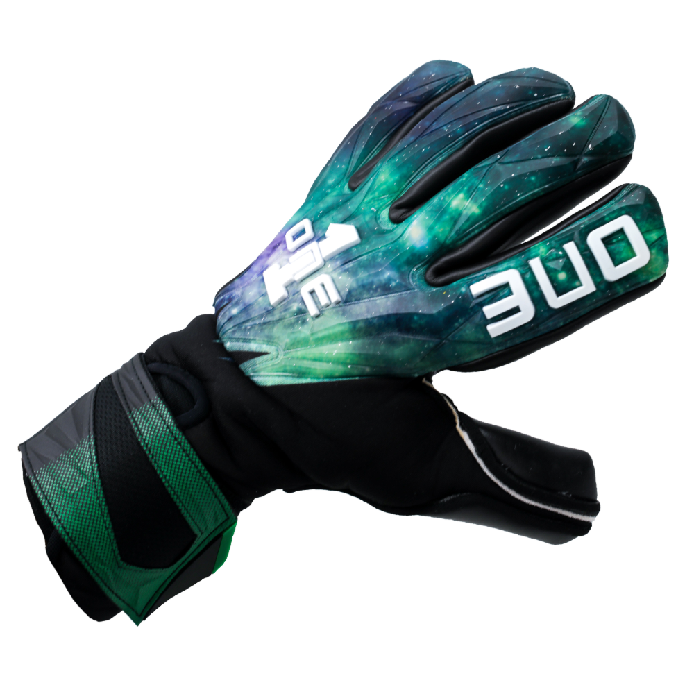 GEO-GLV Aurora Goalkeeper Glove Side Fit Galaxy