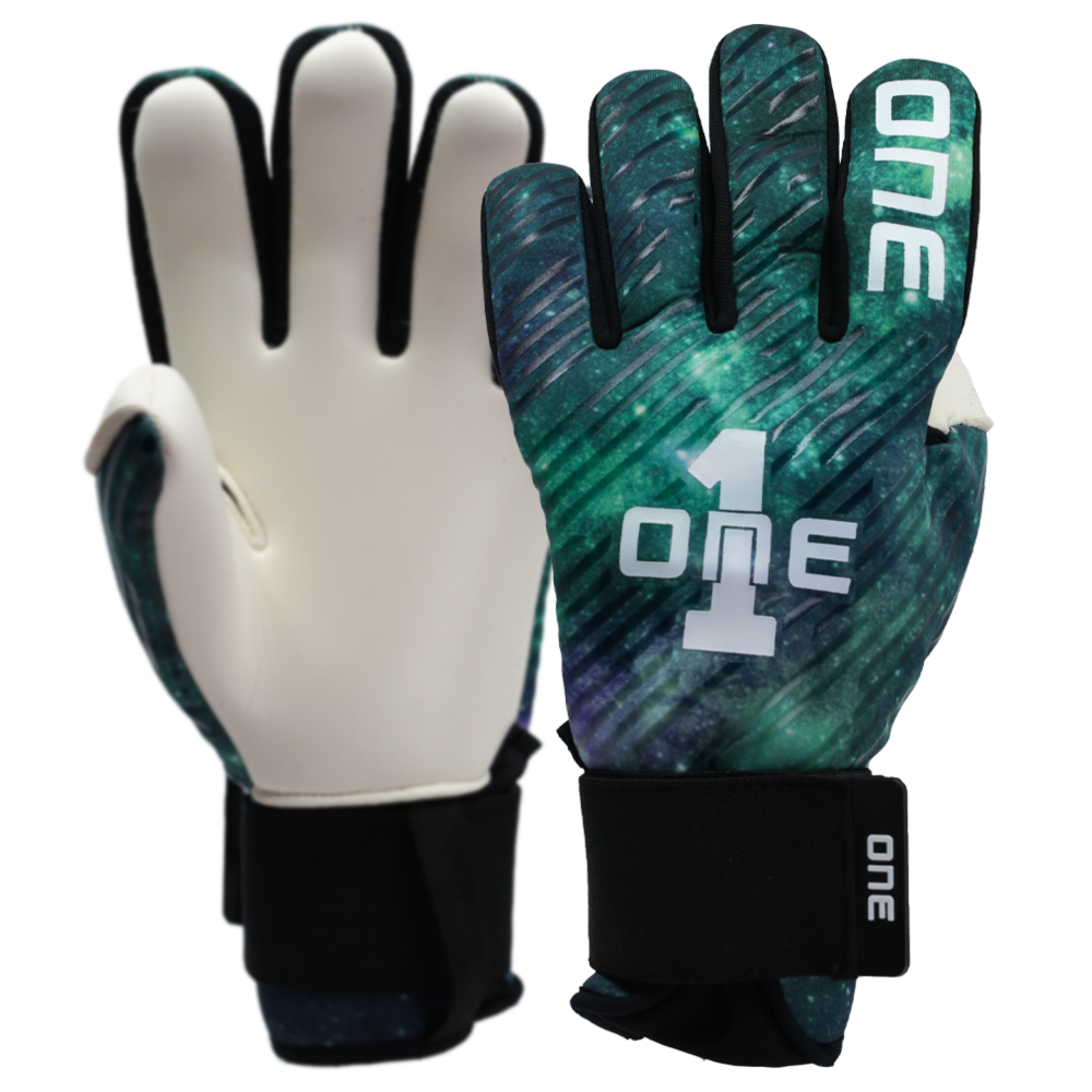 The One Glove Hyperlite Aurora Goalkeeper Glove