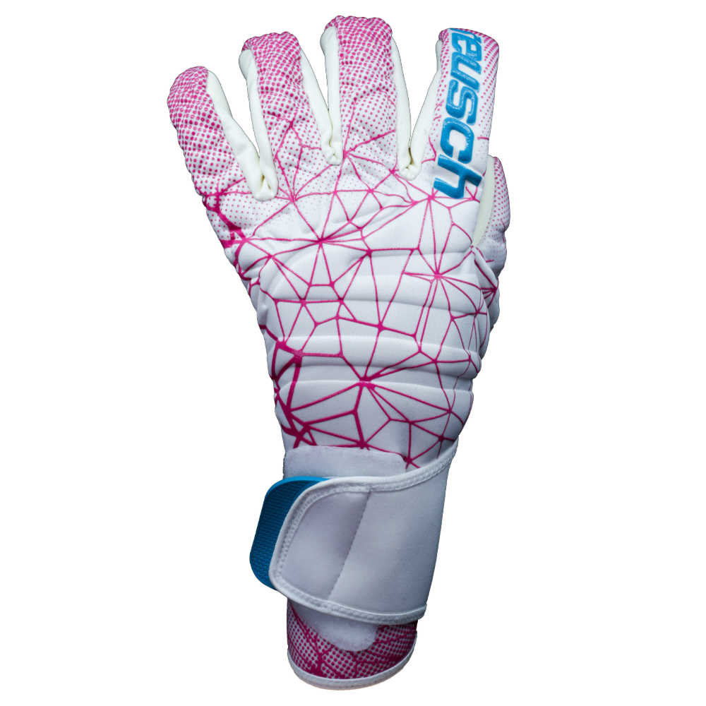 Reusch Pure Contact II G3 Women's World Cup Edition Backhand Pink Blue