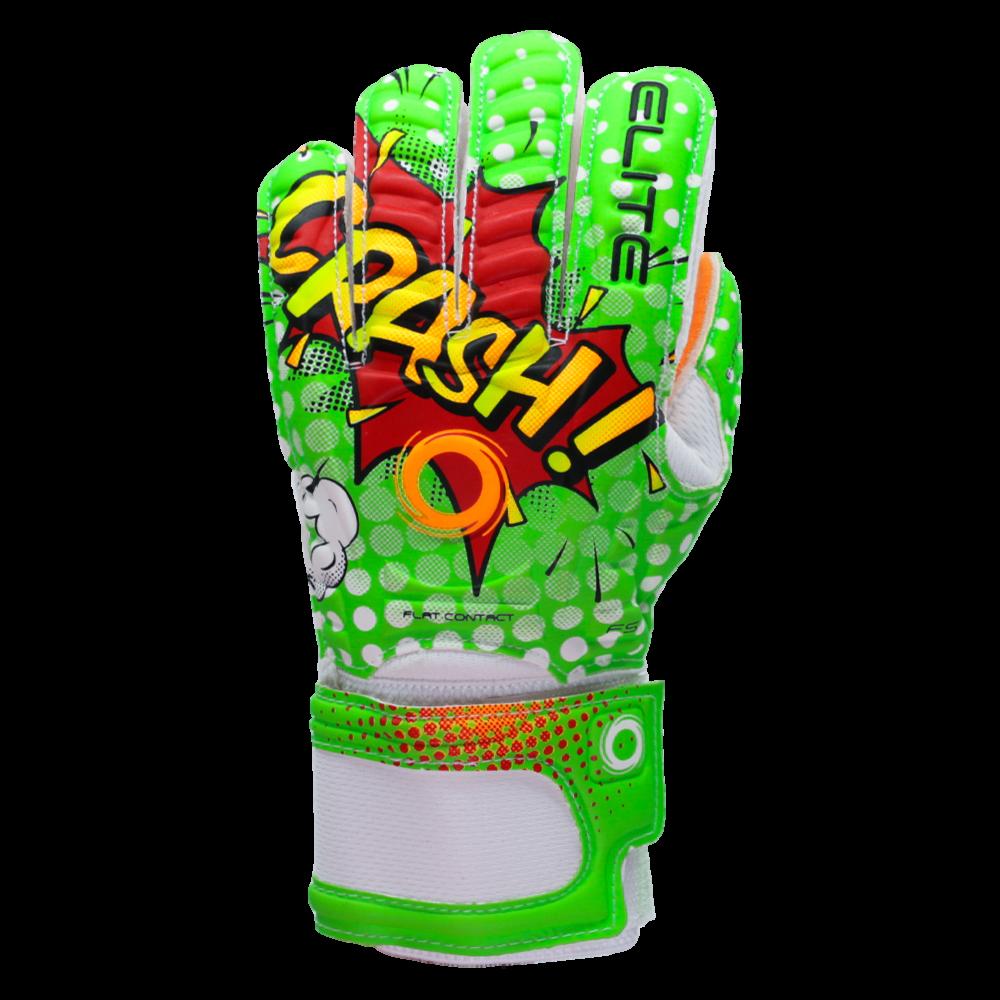 Elite sport crash goalkeeper glove backhand