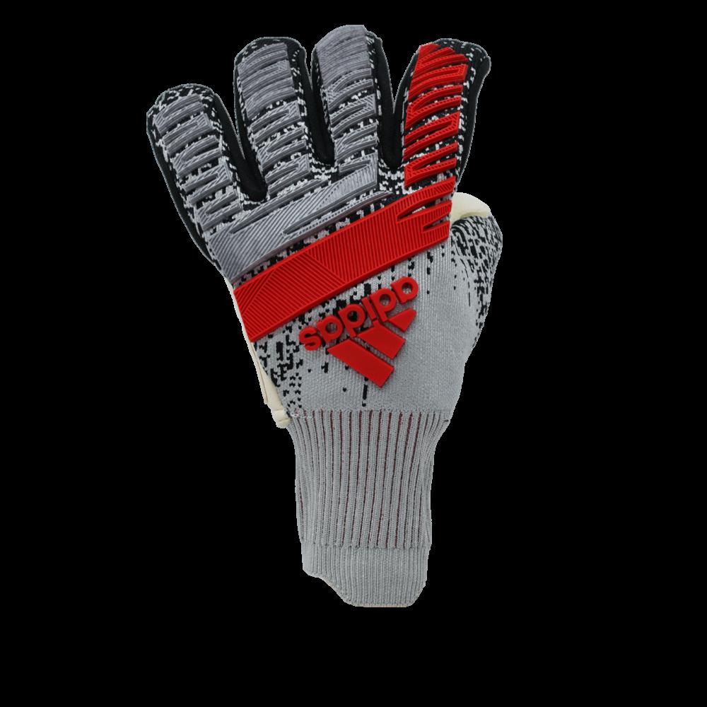 Adidas fingersave goalie glove backhand