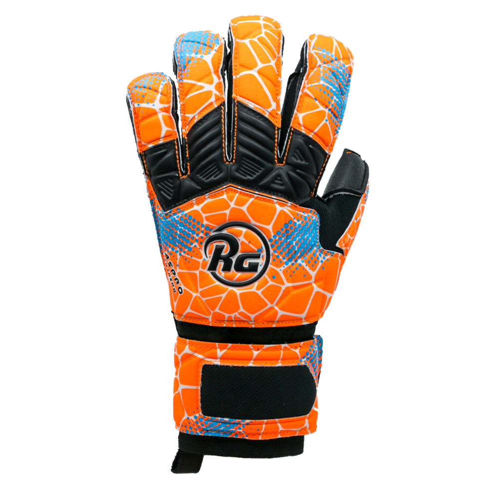 RG logo colorful backhand