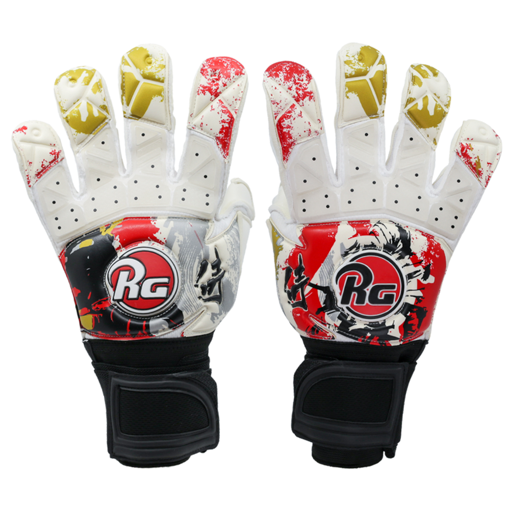 RG goalkeeper glove backhand