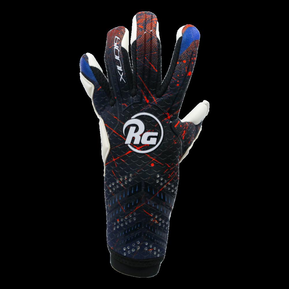 RG logo black backhand