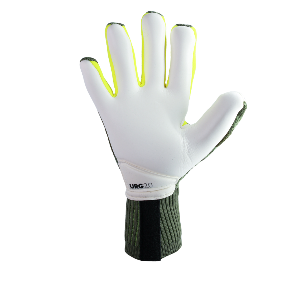Goalkeeper gloves with URG 2.0 palm