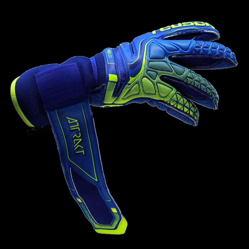 Goalkeeper glove wrist strap