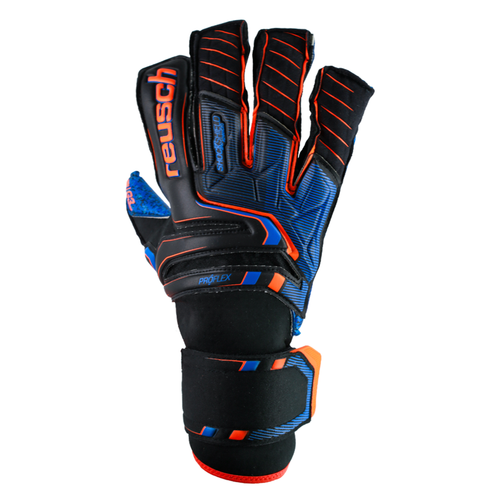 Goalkeeper gloves without finger protection