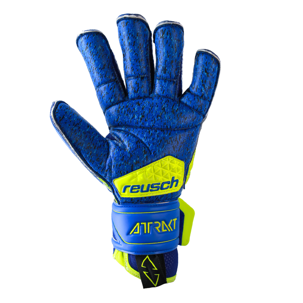 Yellow goalkeeper gloves