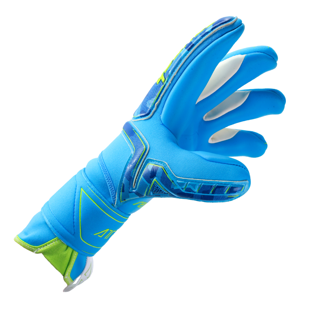 Negative cut goalkeeper gloves