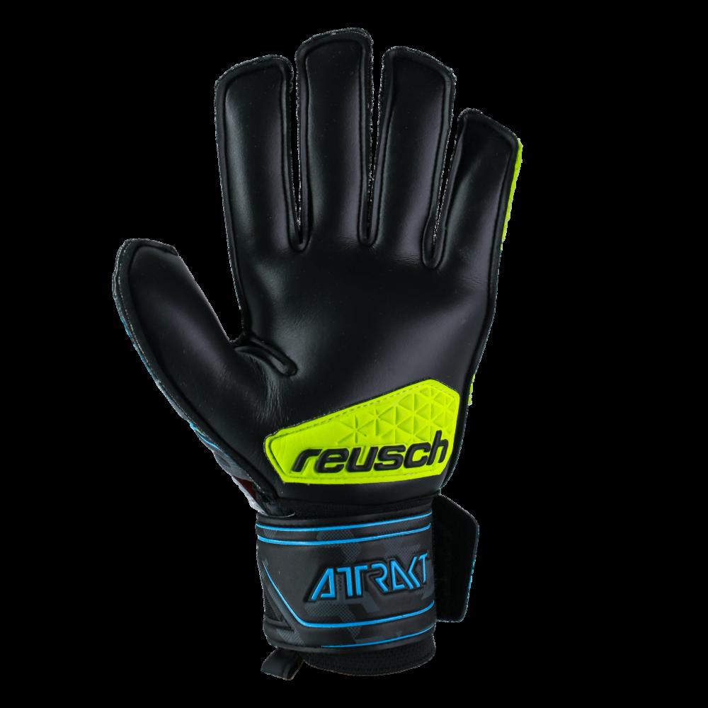 New Details about  /Reusch Attrakt R3 Finger Support Soccer Goalie Gloves
