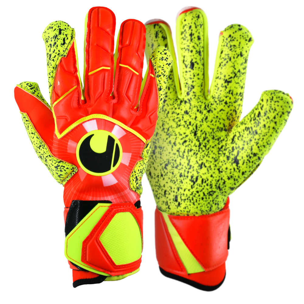 Goalkeeper gloves worn by pros