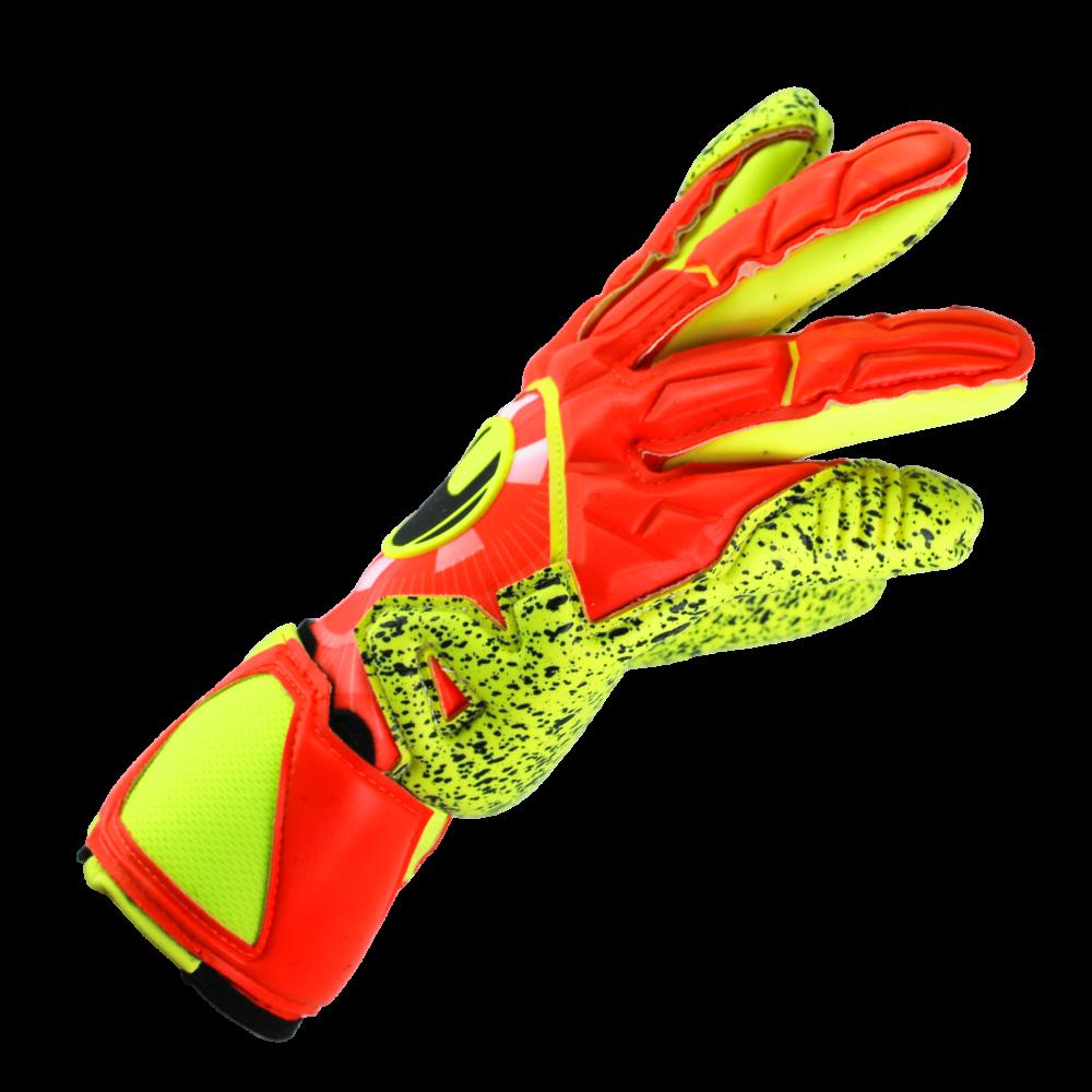 Tight fitting goalkeeper gloves