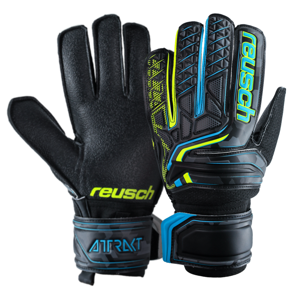 Reusch goalkeeper gloves for tough ground
