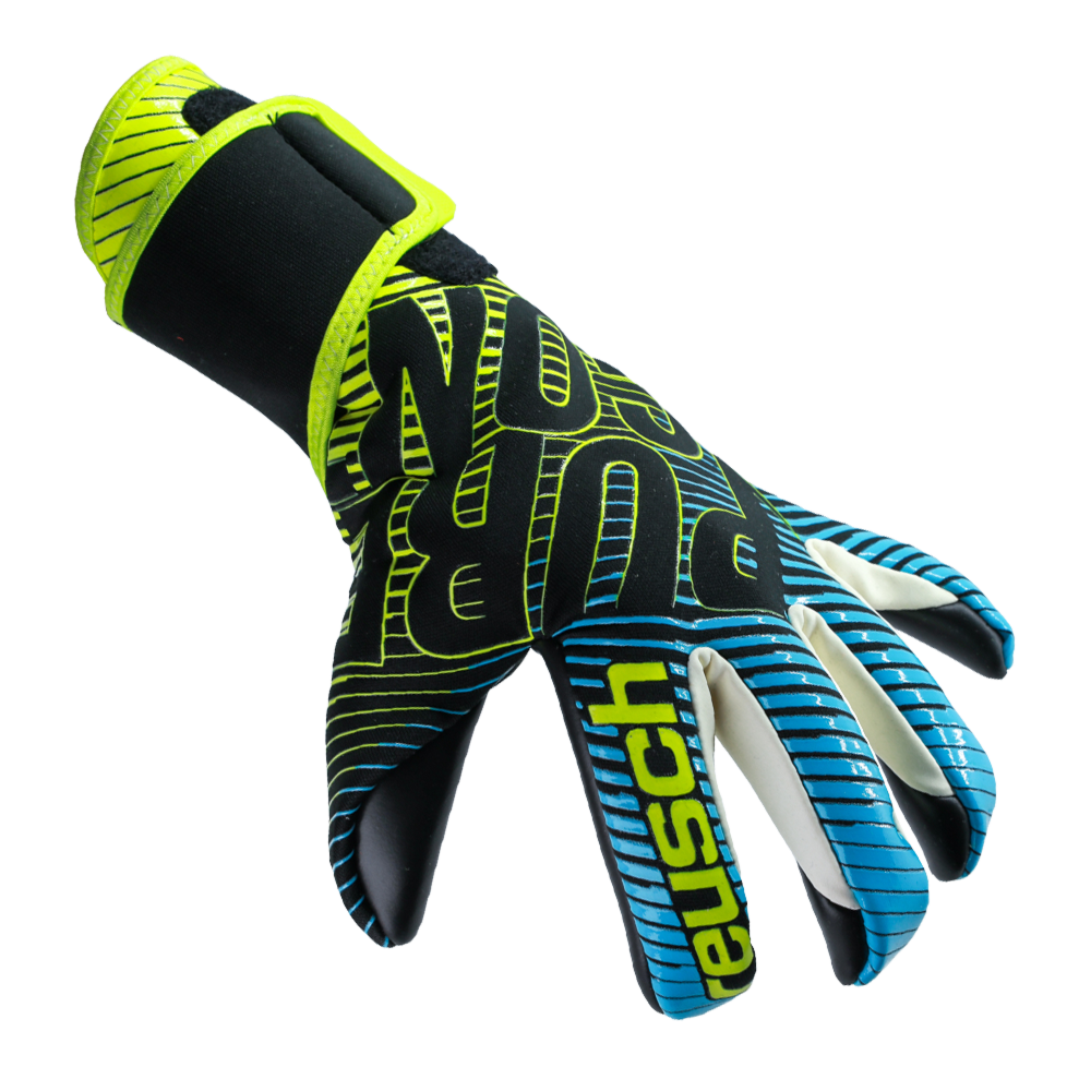 Tight fitting goalkeeper gloves