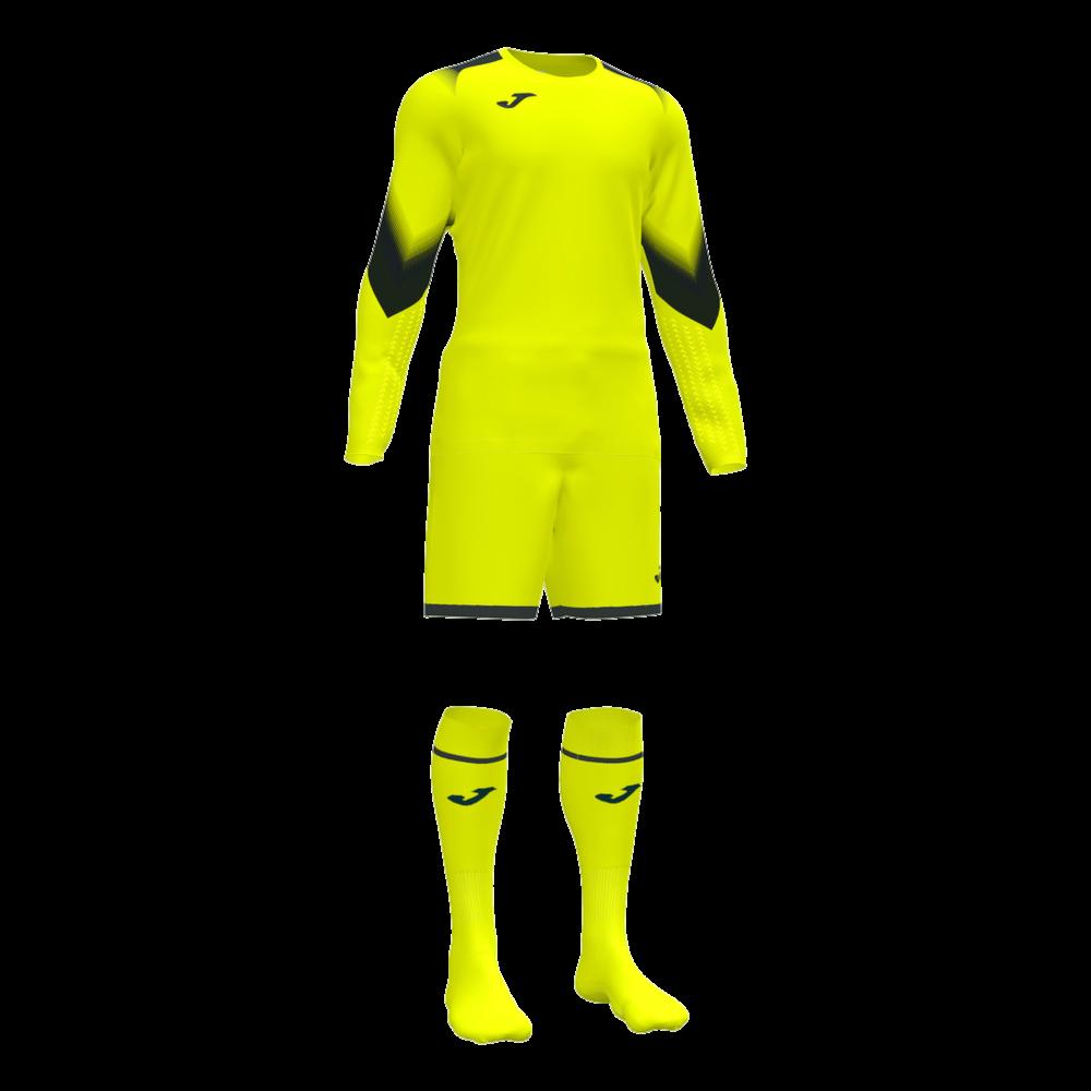 Joma Zamora V Goalkeeper Kit Yellow