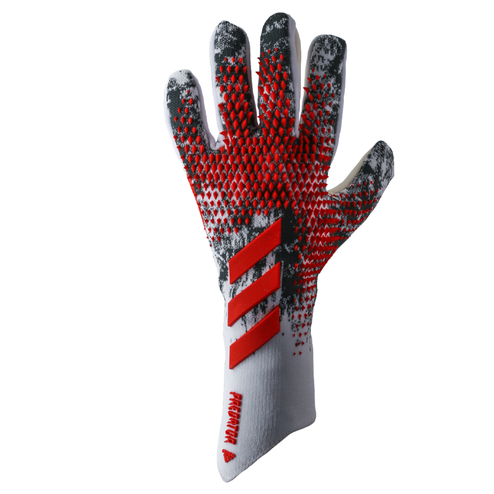 Goalkeeper gloves with punch zone