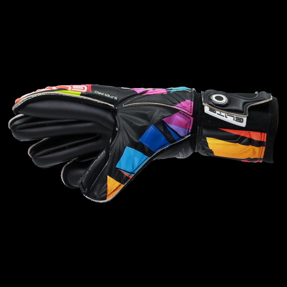 colorful goalkeeper gloves