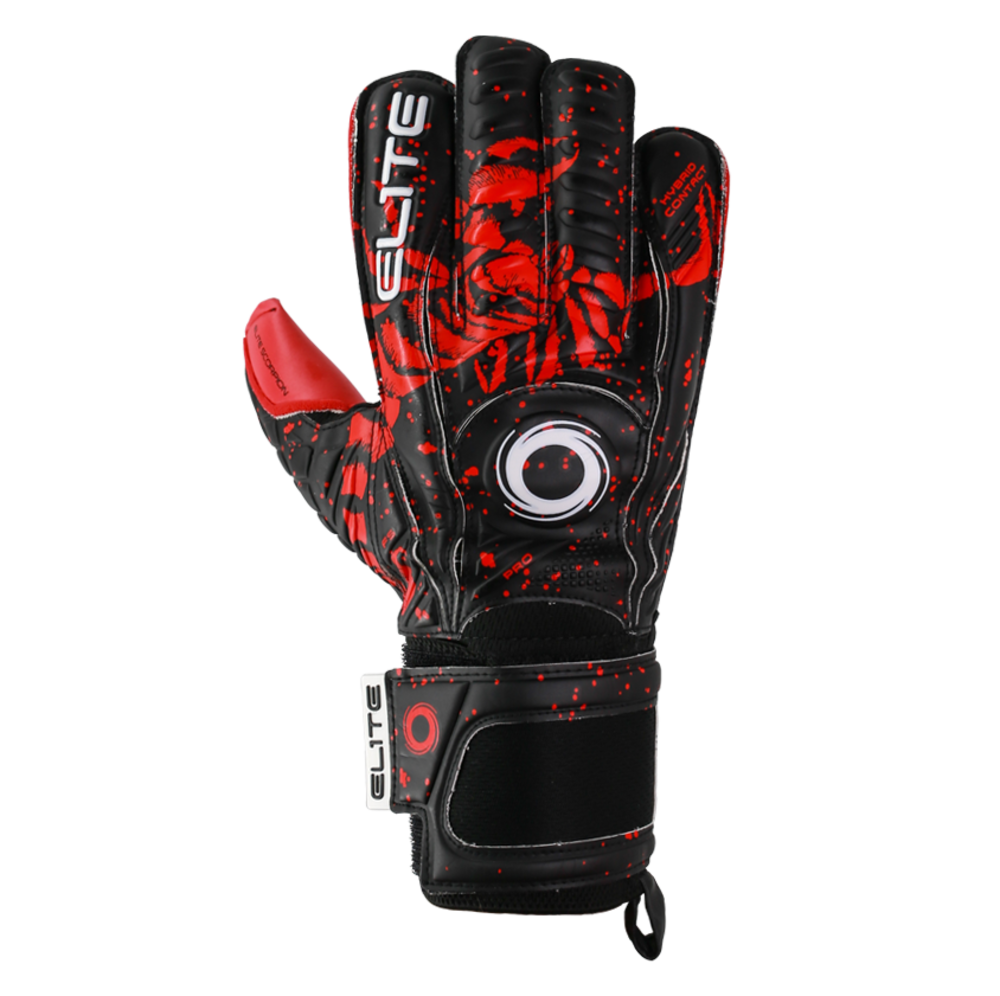 Goalkeeper gloves with finger and thumb spines