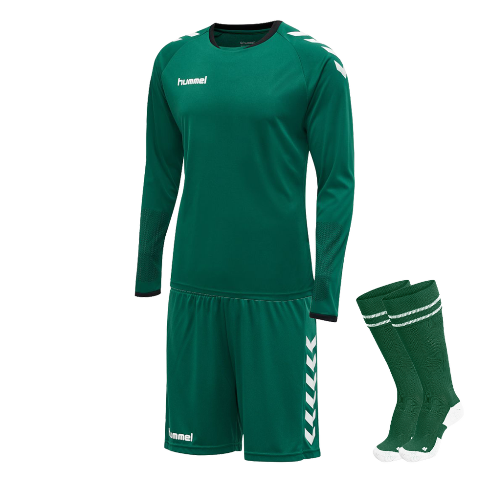 Hummel Core Goalkeeper Kit Evergreen
