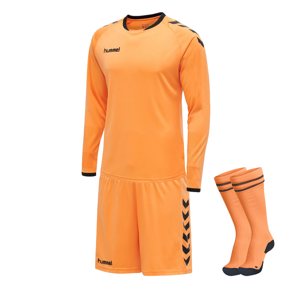 Hummel Core Goalkeeper Kit Tangerine