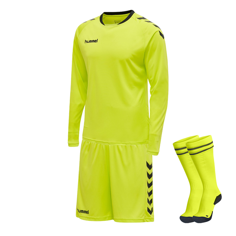 Hummel Core Goalkeeper Kit Evening Primrose