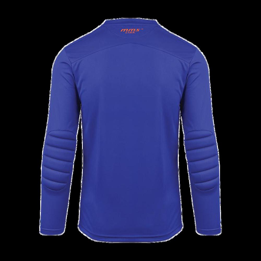 Back of Reusch Match Prime Padded Goalkeeper Jersey Blue