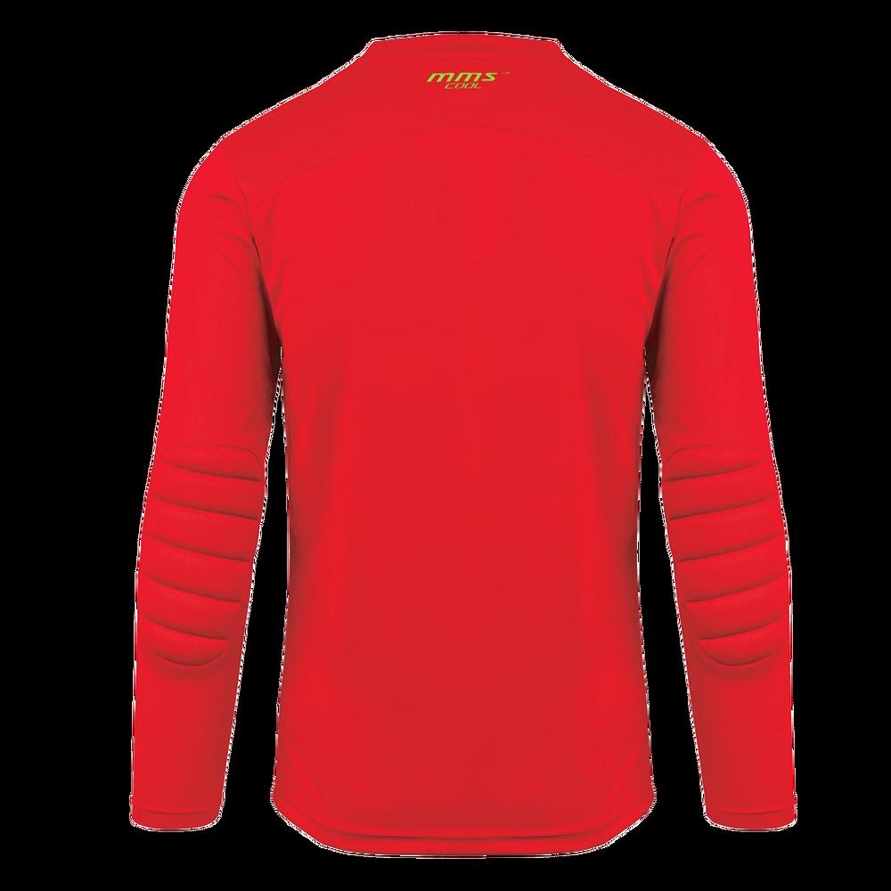 Back of Reusch Match Prime Padded Goalkeeper Jersey Red