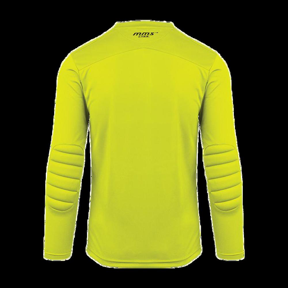 Back of Reusch Match Prime Padded Goalkeeper Jersey Yellow