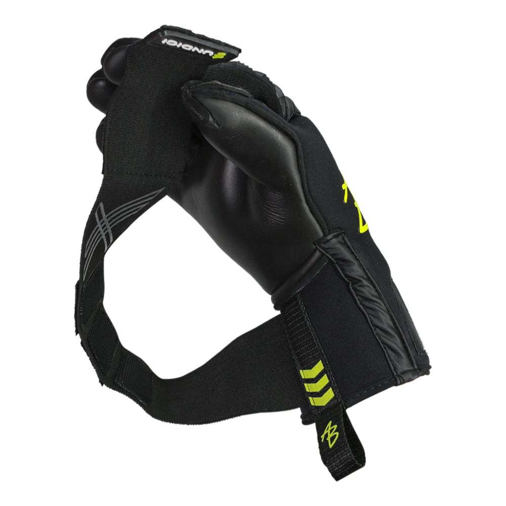 gk gloves with long straps