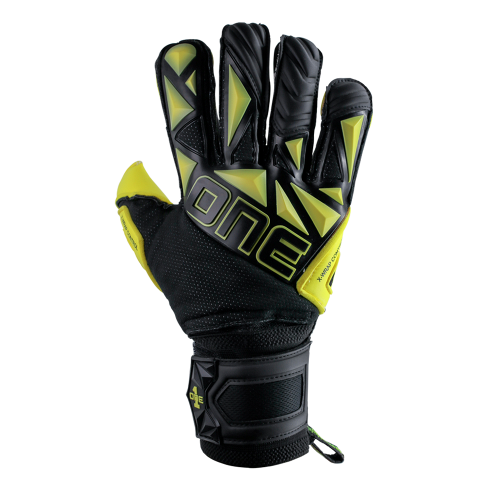 The One Glove SLYR Hyper YLW Backhand