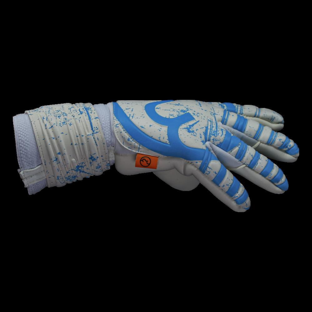RWLK Pro Line Picasso White/Blue Gloves